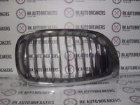 BMW 3 SERIES O/S KIDNEY GRILL E46 COUPE 7064318 REF 1644