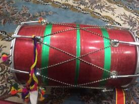 Musical instruments dhol