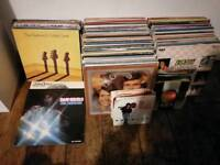 Vinyl music records job lot. (Over 200 records)