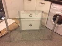 Choice of 2 Glass TV Stands