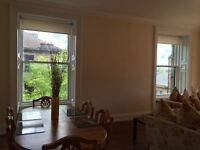 Furnished room in lovely, large West End flat