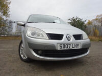 07 RENAULT SCENIC 1.6 MPV,MOT MARCH 018,PART HISTORY,3 OWNERS FROM NEW,LOW MILEAGE MPV,RELIABLE CAR