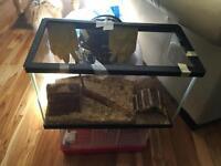 Aquarium and gerbal cage