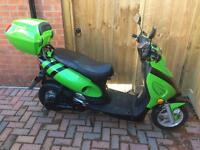 Dichao FT2000 60v electric moped