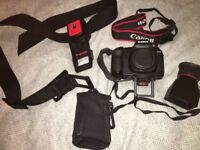 Canon 5D mk2 body and many accessories (2600 actuations)