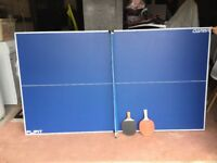 Viavito FlipIt 6ft Table Tennis Top. Excellent condition as rarely used