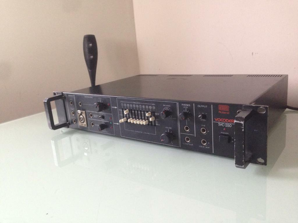 Roland SVC-350 Rare Analogue Vocoder