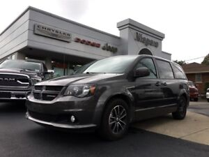 2016 Dodge Grand Caravan R/T,LEATHER,ALLOYS,DVD,LOADED!!~