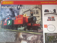 Hornby Industrial Freight Electric Train Set - 00 Gauge