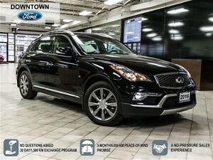 2016 Infiniti QX50 Heated Power Leather seats, Power moonroof, B
