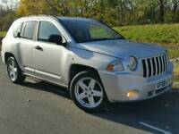 2008 JEEP COMPASS 2.0 CRD*LIMITED EDITION*FSH*LEATHER*H/SEATS*#X-TRAIL#LANDROVER#SUV#CRV