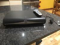 Sky+HD box with remote and cable