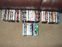 assorted dvds approx 80+(JOB LOT)