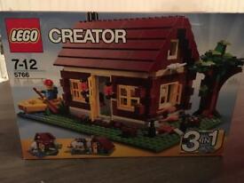 Lego creators 3in1 log cabin