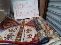 Non Slip Rugs £5 each