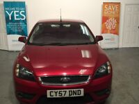 FORD FOCUS COUPE CONVERTIBLE 2.0 PETROL MANUAL 2007 57 SUMMER IS COMING