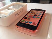 IPhone 5c Pink (16GB). With box. Good condition.