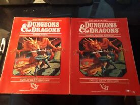 Dungeons and Dragons Rule and player books