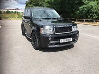 2008 range rover tdv8 sport hst v8 diesel black tdv6 hse Mercedes Bmw v6 Audi 3.6 2.7 autobiography