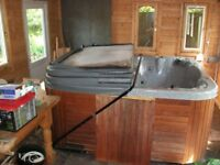 Cover for Balboa Deluxe 6-seater hot tub, only used inside, collection only (Mayals, Swansea)