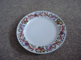 royal worcester christmas plate .