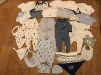 Baby boys bundle (0-3 months)