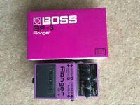 Boss BF3 Guitar Flanger Pedal
