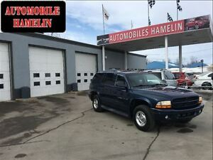 2001 Dodge Durango r/t 7 places cuir 4x4  mags
