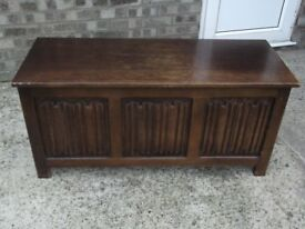 Old oak coffer