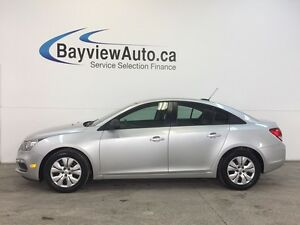 2015 Chevrolet CRUZE LS- 1.8L! A/C! ON STAR! GAS BUDDY!