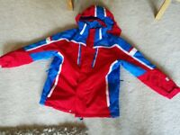 Nevica Boys Age 13 Red, White and Blue Ski Jacket