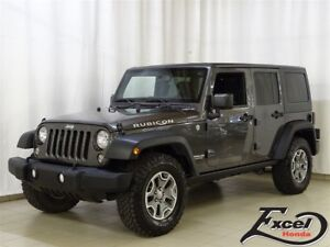 2014 Jeep Wrangler Unlimited Rubicon, Trans. Manuelle, 2 Toits,