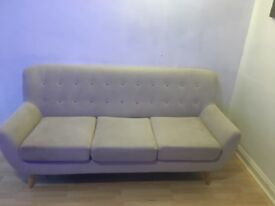 New condition 3 seater