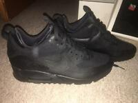 Nike airmax 90 patches black