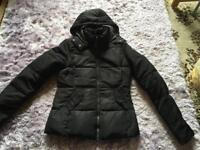 Only Tahoe Zipped Hooded Jacket Ladies Parka jacket Coat Top Zip Black colour Size: XS used £5
