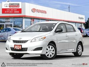 2014 Toyota Matrix Toyota Certified, One Owner, No Accidents,...