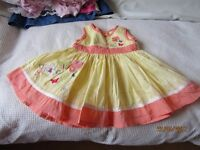 BUNDLE OF BABY GIRL CLOTHES SIZE 0--3 MONTHS