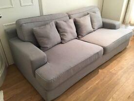 Sofa, Couch, Large 3 Seater Sofa, IKEA Goteborg Sofa, Comfy Sofa, w/ 2 Removable Washable Cover