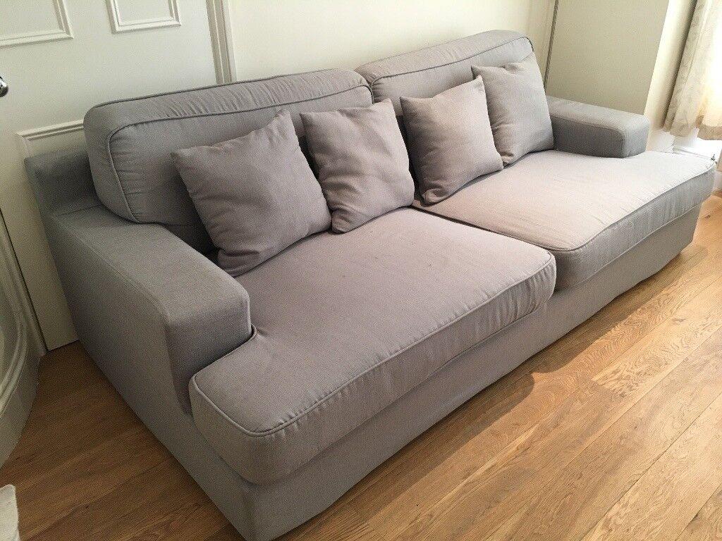 Sofa Couch Large 3 Seater Sofa Ikea Goteborg Sofa Comfy Sofa W