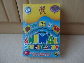 Grafix Animal Match Cards