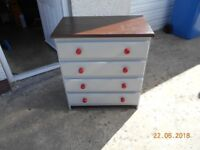 up cycled chest of drawers