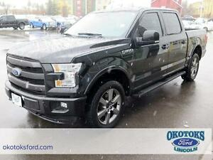 2015 Ford F-150 Lariat 5.0l v8 FFV 4x4 Lariat, lots of packages!