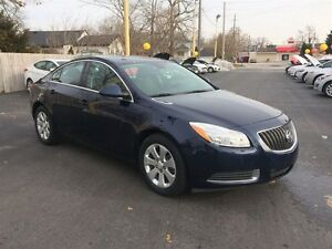 2012 BUICK REGAL BASE- LEATHER INTERIOR, BLUETOOTH, ONSTAR, CRUI