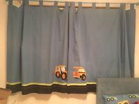 Next Little Digger Curtains