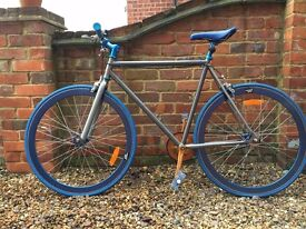 """Bicycle - Custom Built fixed gear """"fixie"""" bicycle"""