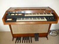 Hammond Organ Electric Mahogany wood good condition