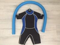 "Children's ""Surfers Wipe Out"" Wetsuit - Age 4-6 years (unused)"