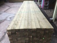 4x2 Inch Treated Timber C24 Construction Grade 4.8m Lengths