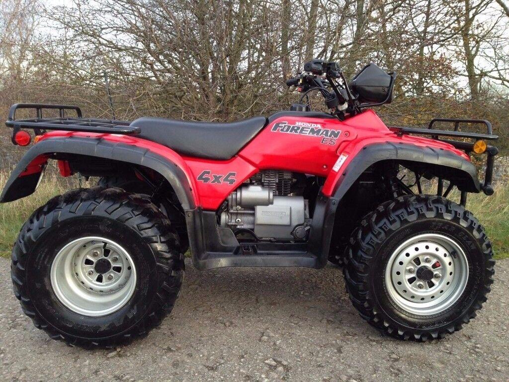 HONDA TRX 450 4x4 FOREMAN FARM QUAD ATV POLARIS GRIZZLY ...