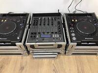 Pioneer CDJ 1000 Mk3 Turntable & American Audio mx-1400 DSP MIXER